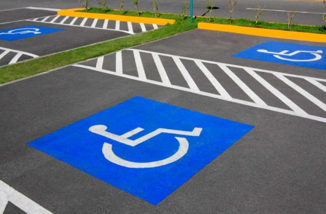 ADA Parking Spaces