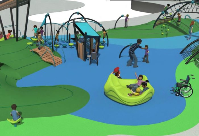 Southbend ADA Accessible Playground