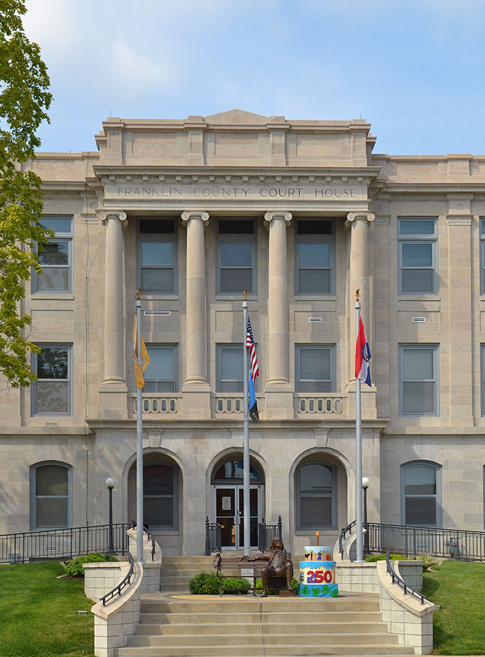 Franklin County Mo, Courthouse