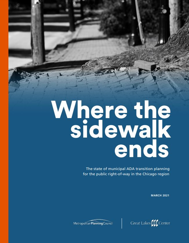 Where the sidewalk ends cover page